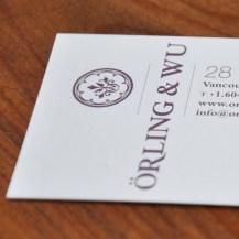 Orling & Wu branding