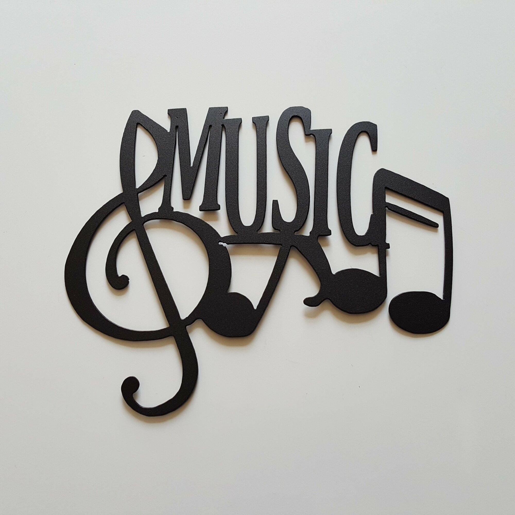 Music Note Wall Decor - Visual Hunt