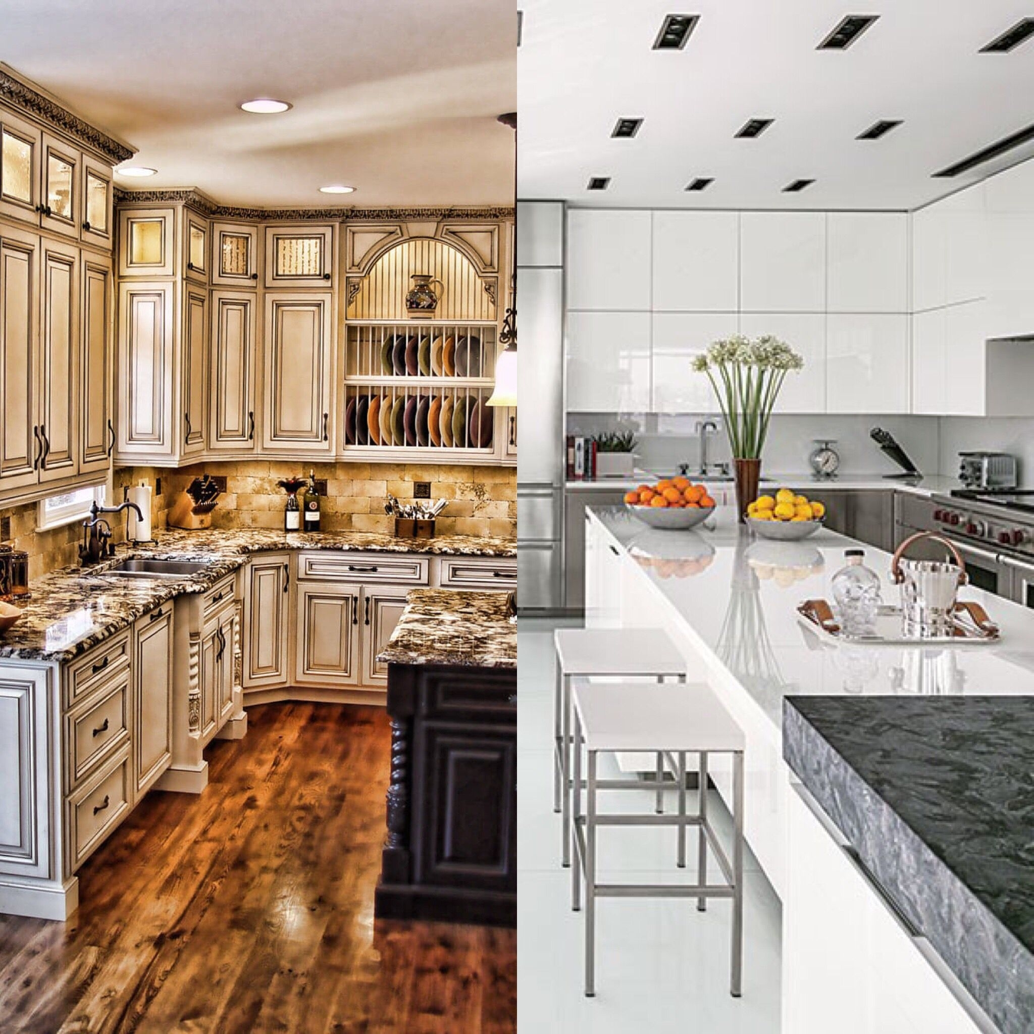Antique White Kitchen Cabinets You Ll Love In 2021 Visualhunt