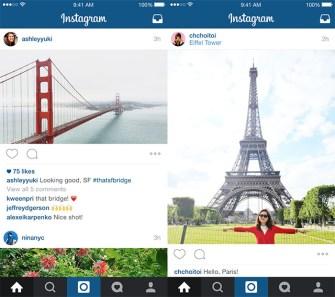 Instagram Lets You Publish Landscape and Portrait Images