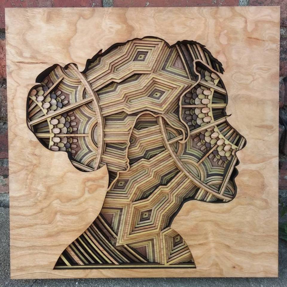 Gabriel Schama laser cut artworks 15