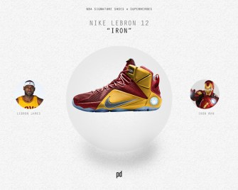 We Wish These Superhero-Themed NBA Shoes Were Real