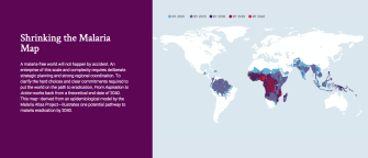 An Interactive Shows How We Can Eradicate Malaria in 25 Years