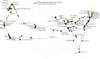 The Ultimate Brewery Road Trip, Routed Algorithmically