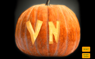 Bored? Carve a Virtual Pumpkin