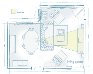 Yeah, I had a lot of fun drawing these... I guess the 9 months I spent working as an architectural illustrator rubbed off on me! I did a few room layouts while I was there.