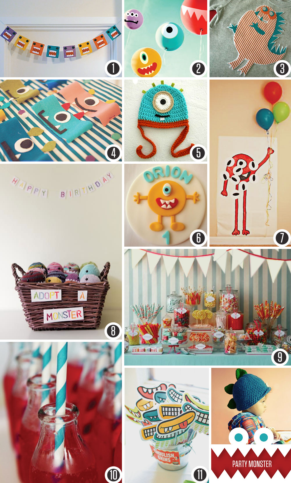 Party Monster; a birthday board
