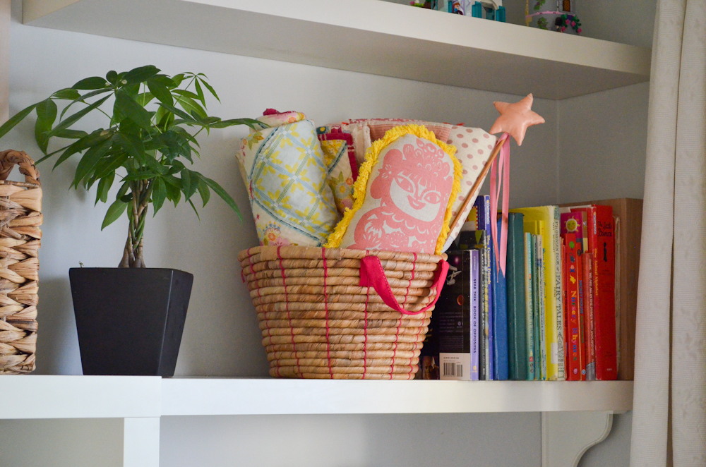 IKEA Basket Handmade Quilts
