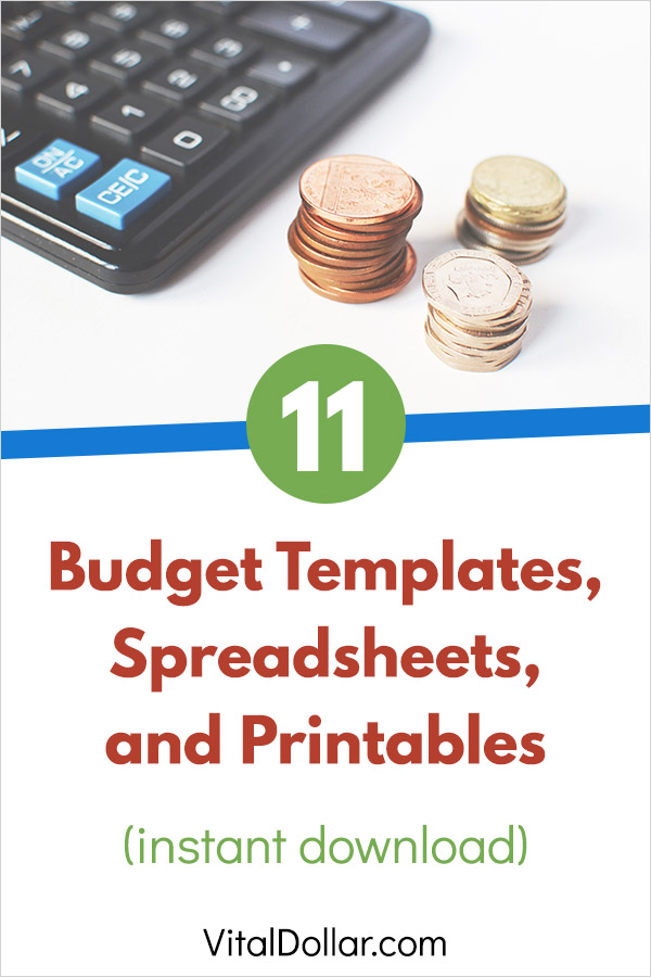 11 Budget Templates and Spreadsheets to Help Organize Your Finances