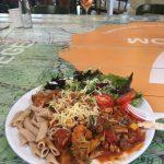 Vegetarische gerecht tijdens Zomerschool 2016