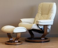 Stressless Mayfair Paloma Kitt Leather Recliner Chair by ...