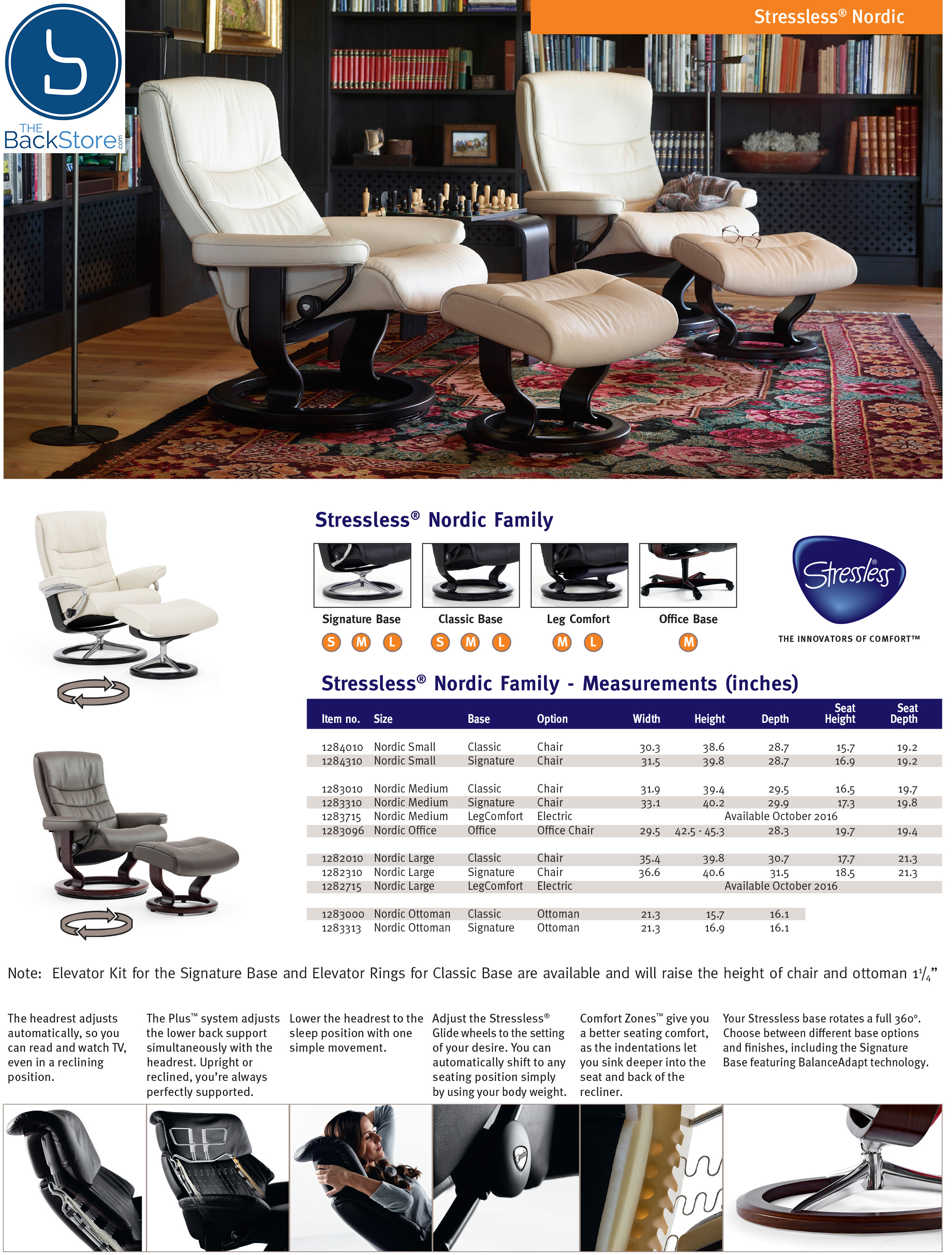 Stressless Nordic Legcomfort Stressless Nordic Power Legcomfort Recliner Chair By Ekornes