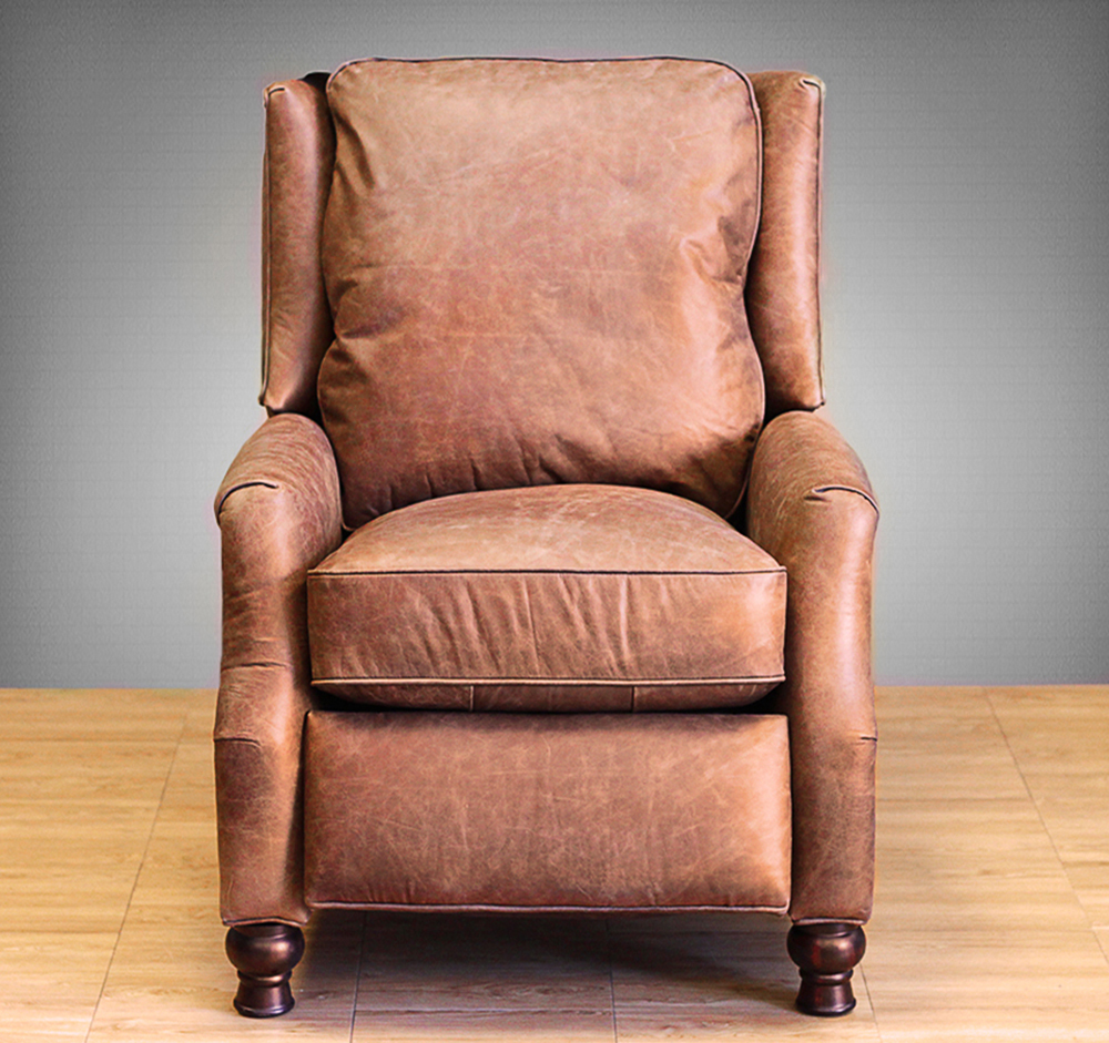 Ashley Furniture San Diego Barcalounger Ashton Ii Recliner Chair - Leather Recliner