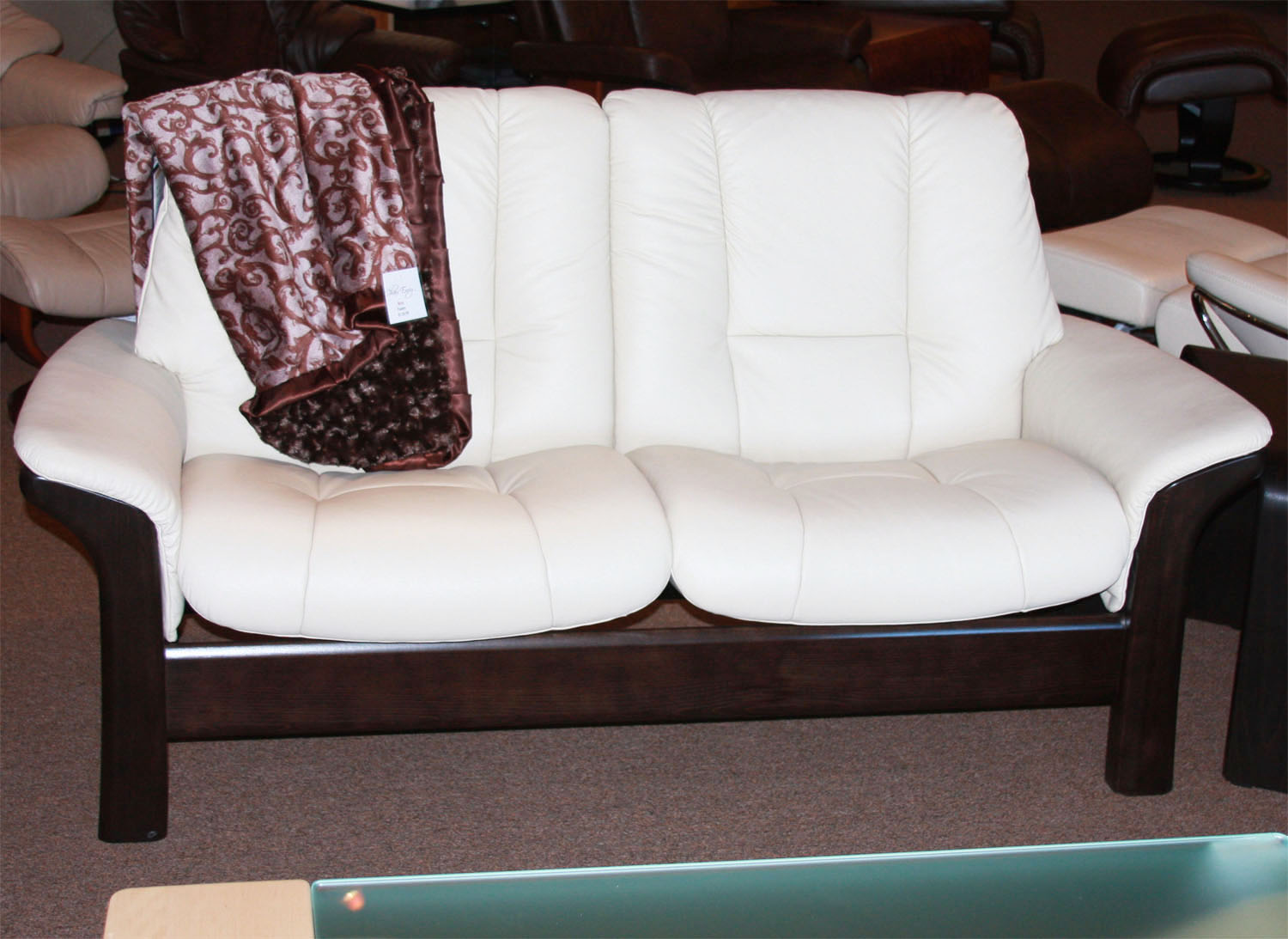 Ekornes Stressless Buckingham Sofa Ekornes Stressless Buckingham Low Back 3 Seat Sofa
