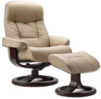 Fjords 215 Muldal Ergonomic Leather Recliner Chair ...