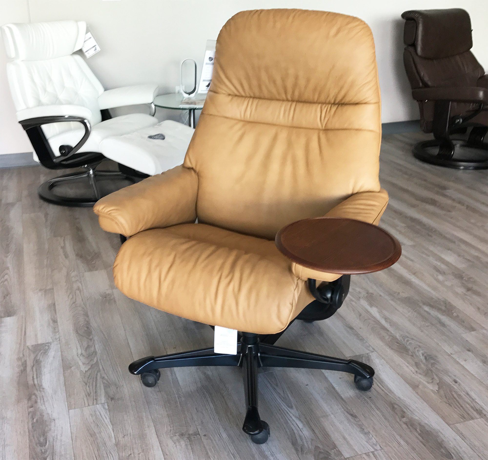 Stressless Paloma Stressless Sunrise Office Desk Chair Paloma Taupe Leather By Ekornes