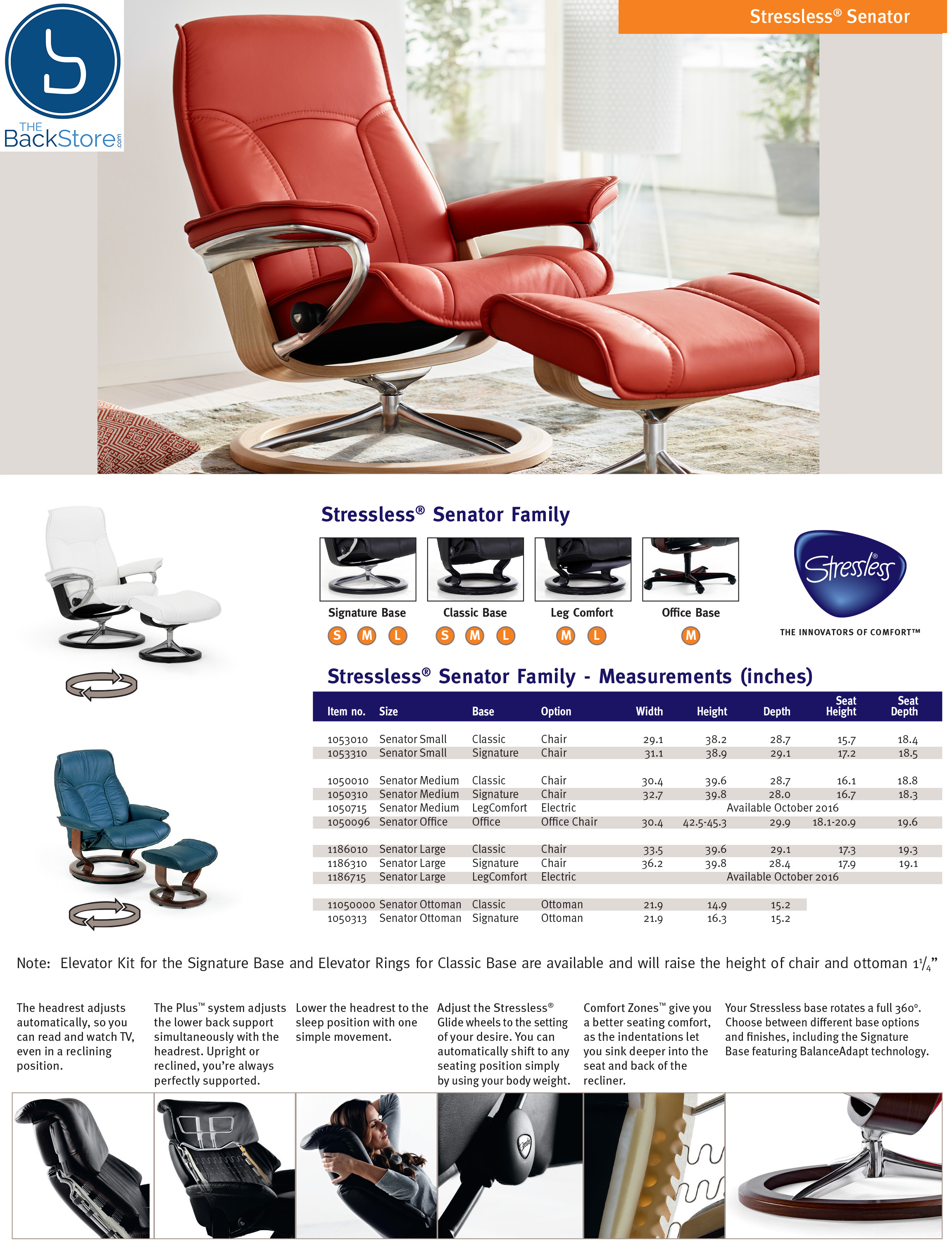 Stressless Video Stressless Governor Paloma Brandy Leather Recliner Chair And Ottoman By Ekornes