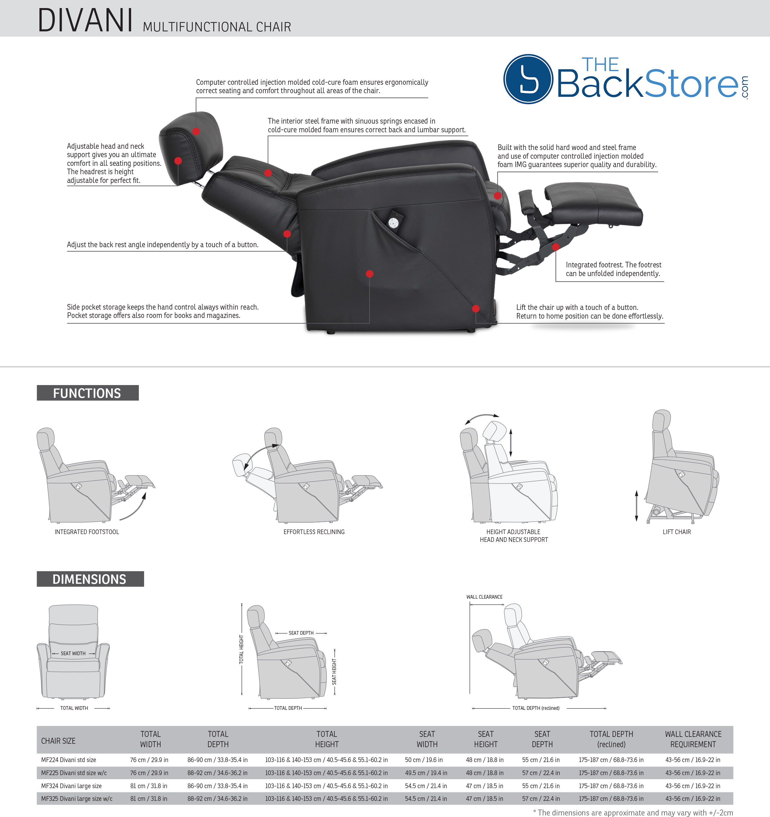 Divani Relaxer Chair Index Of Backstore Img Pics