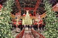 Bellagio Conservatory Holiday Display 2015 Unveiled