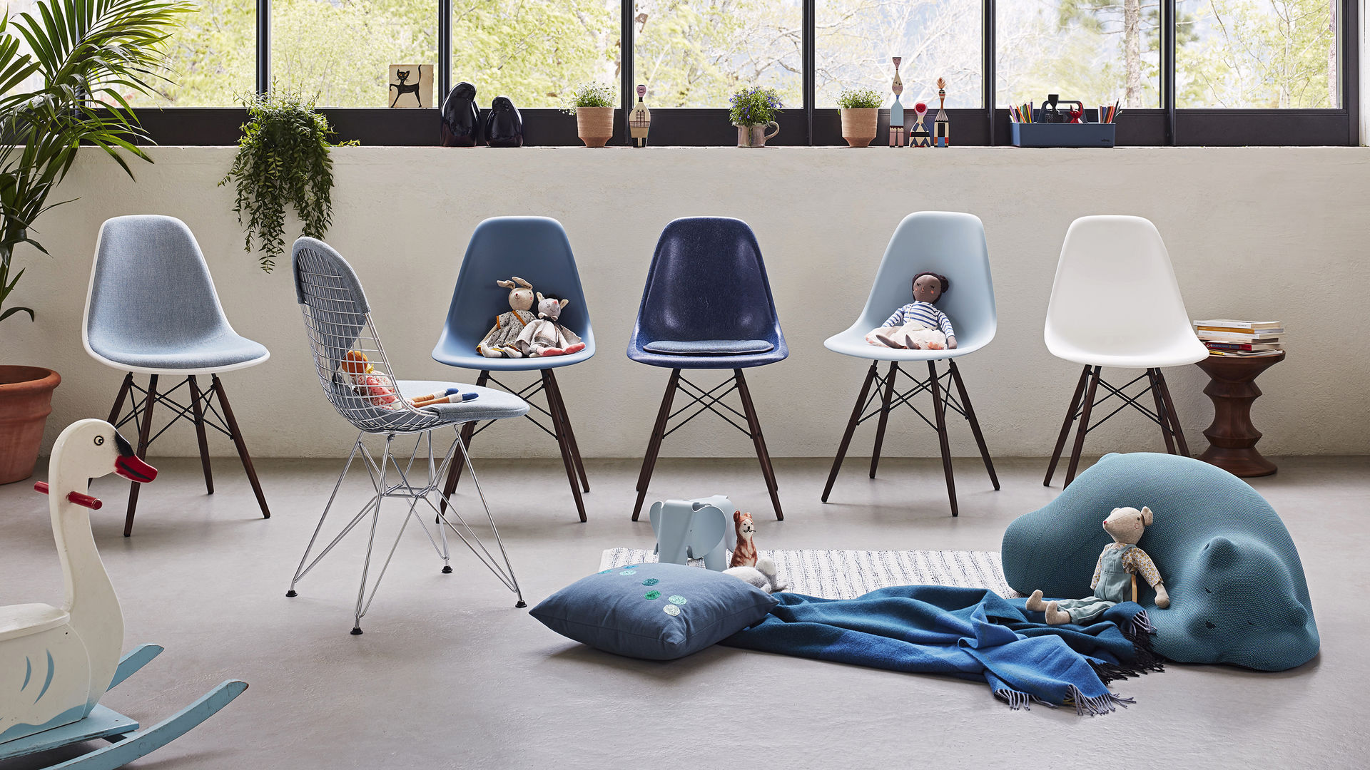 Eames Daw Chair Vitra | Eames Plastic Side Chair Dsw
