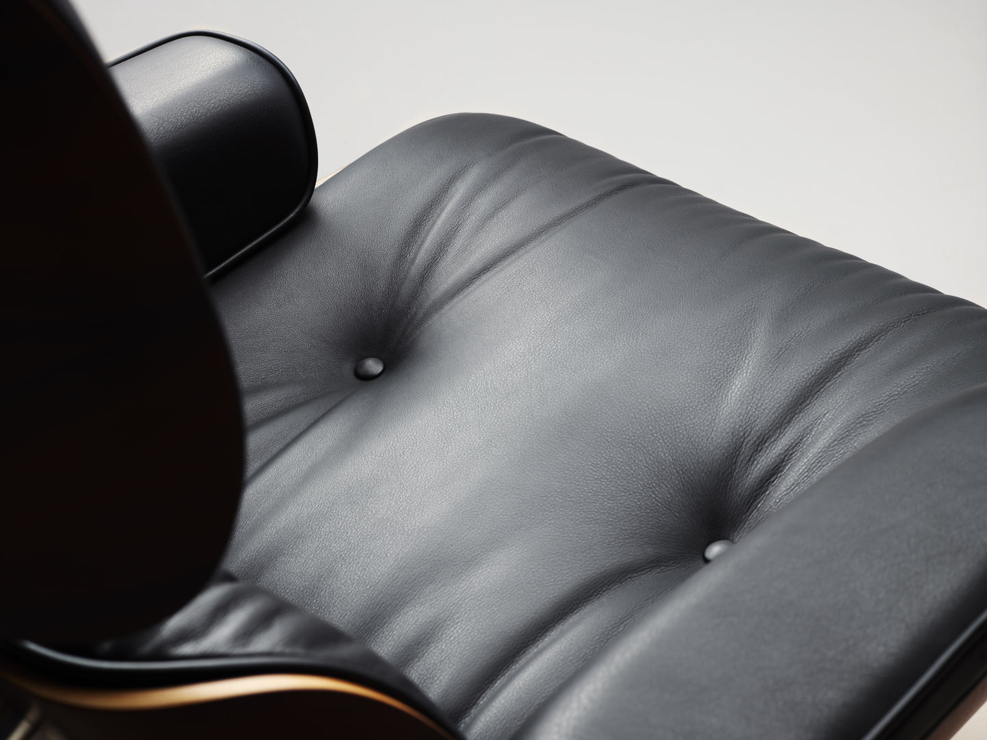 Vitra Eames Lounge Chair Black Vitra Eames Lounge Chair