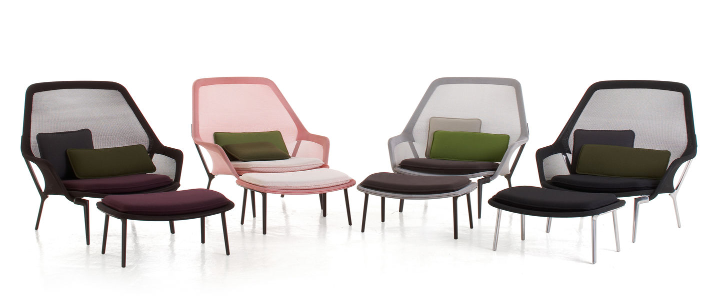 Design Live Leuchten Vitra | Slow Chair & Ottoman