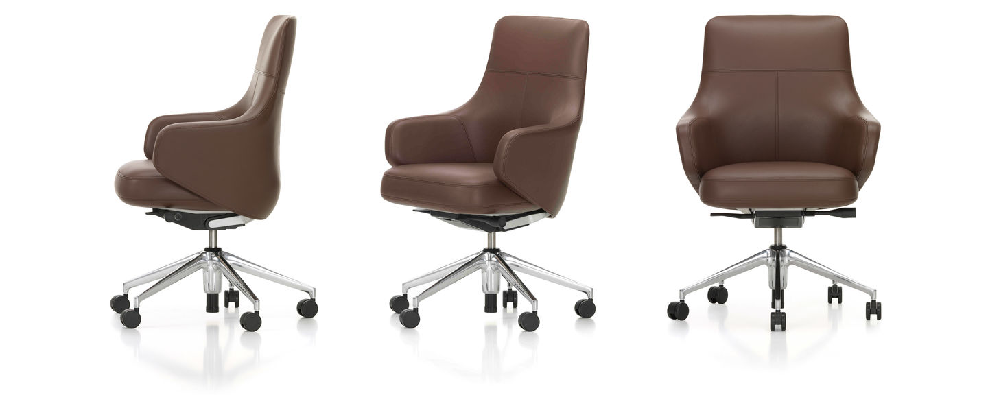 Vitra Sessel Gebraucht Vitra Grand Executive Lowback