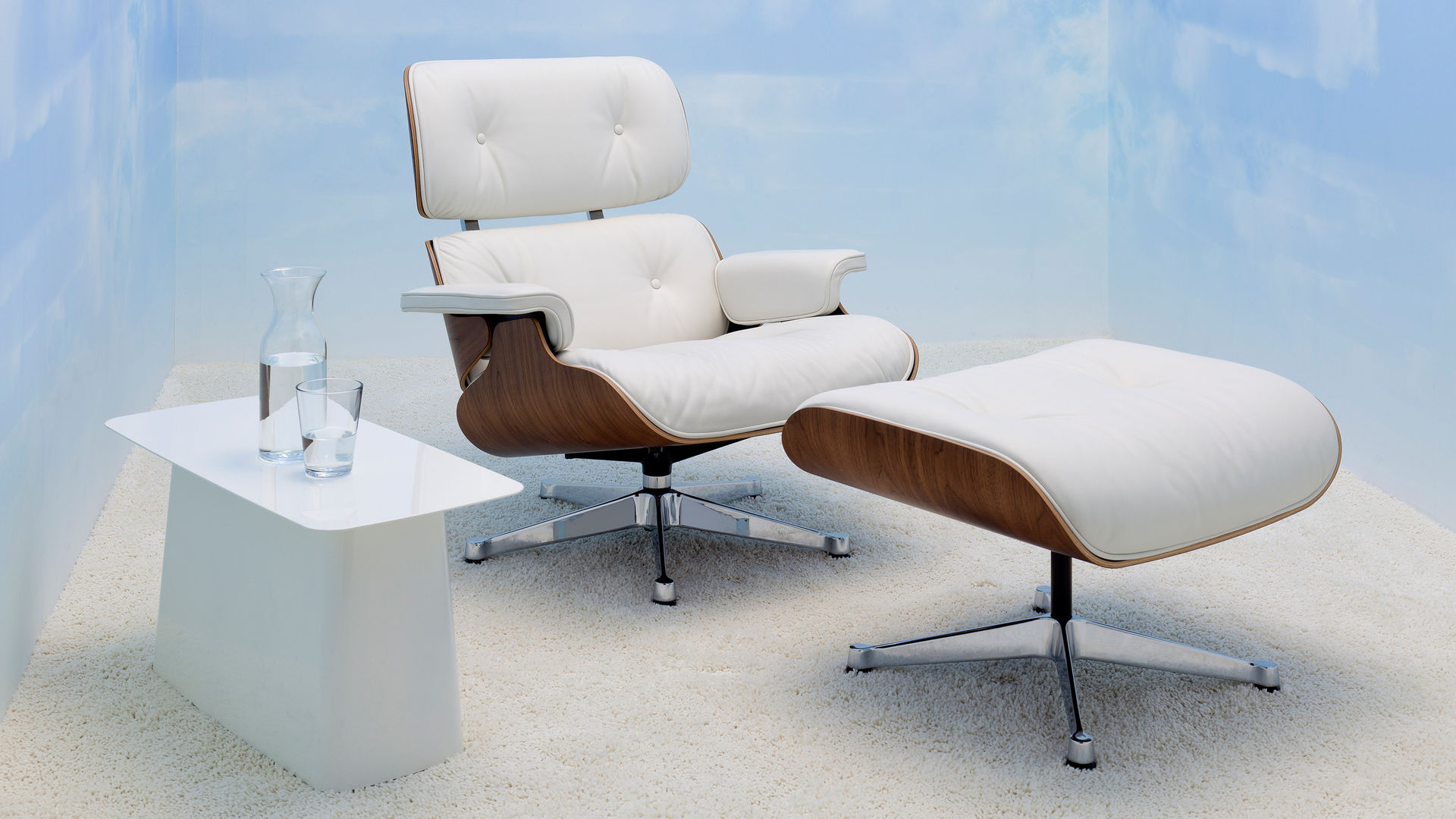 Holzschalen Sessel Vitra Lounge Chair And Ottoman