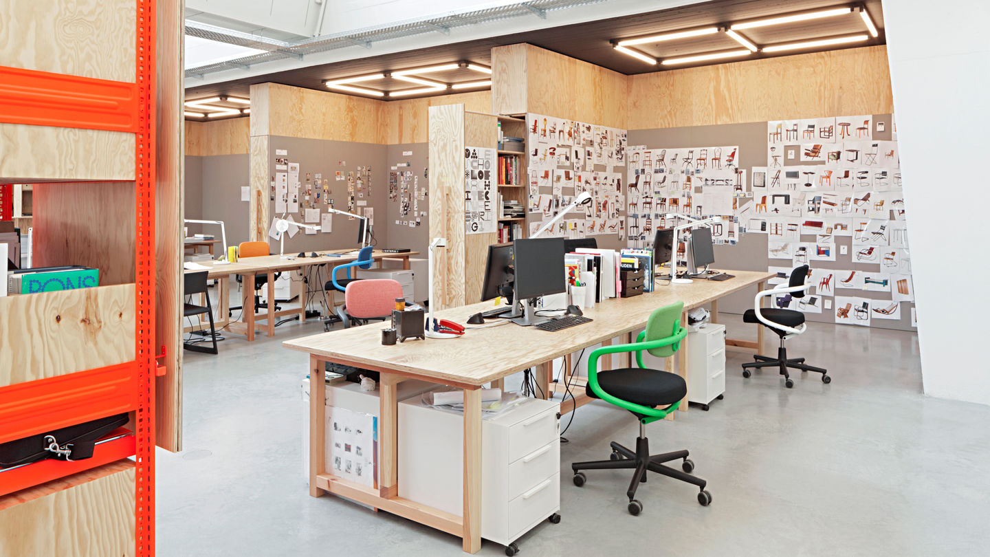 Google Büros Vitra | Vitra Design Museum Office