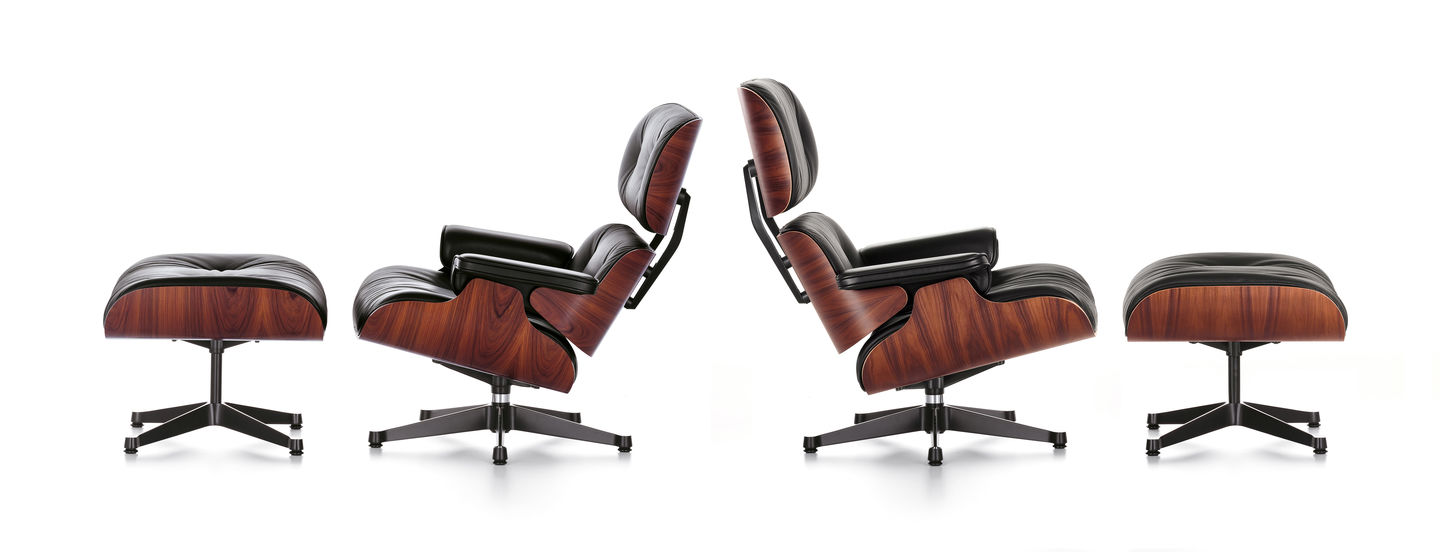 Charles & Ray Eames Stuhl Vitra Eames Lounge Chair