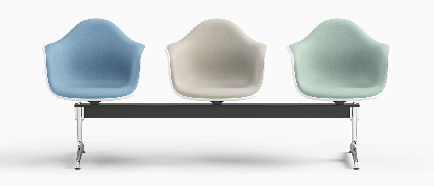 Vitra Eames Armchair Vitra Eames Plastic Armchair Beam Seating