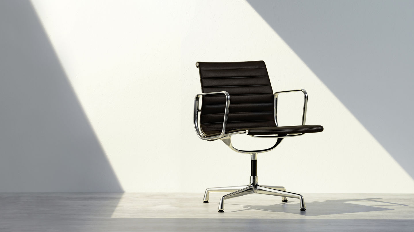 Sedia Vitra Eames Vitra The Original Is By Vitra Eames Aluminium Group