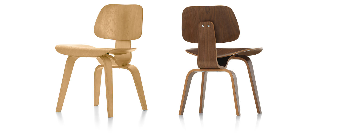 Vitra Eames Side Chair Vitra Plywood Group Dcw