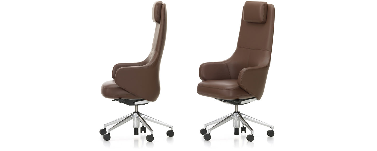 Fauteuil Cuir Vitra Vitra Grand Executive Highback
