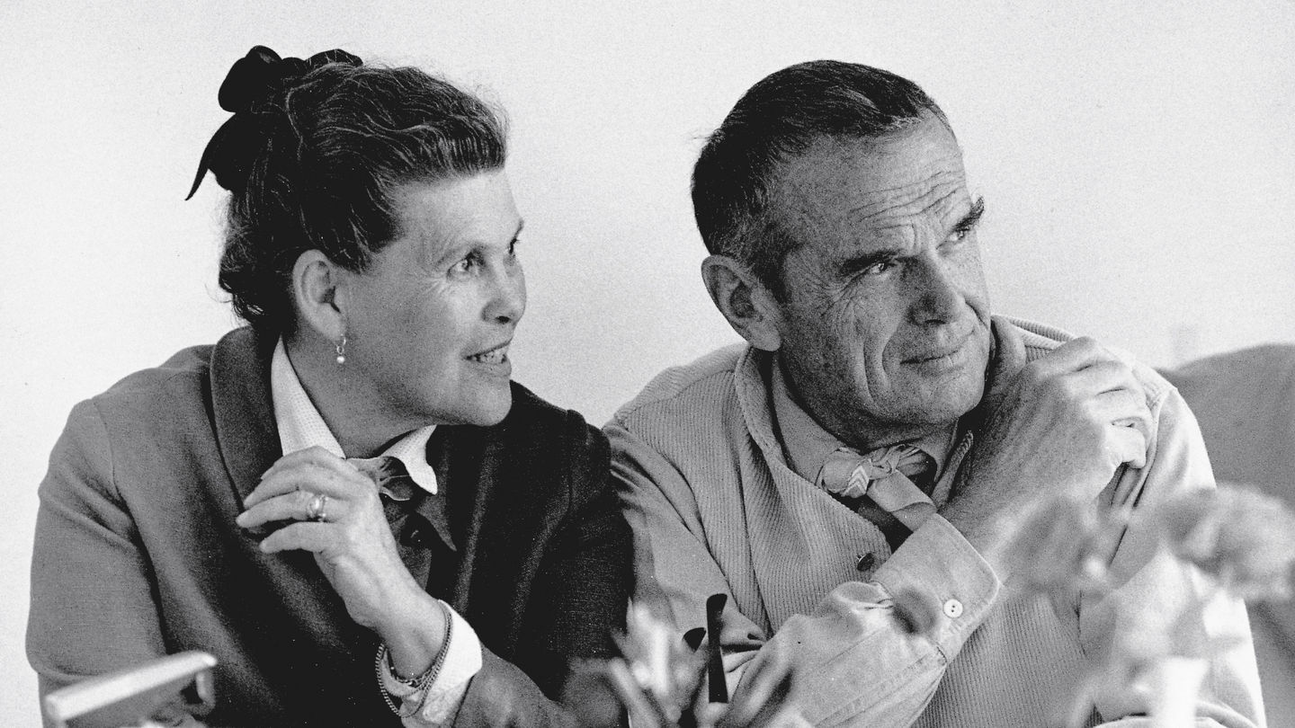 Ray And Charles Eames Vitra Charles Ray Eames