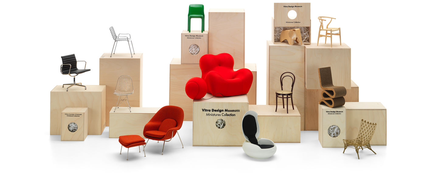 Stuhl Design Vitra Vitra Miniatures Collection