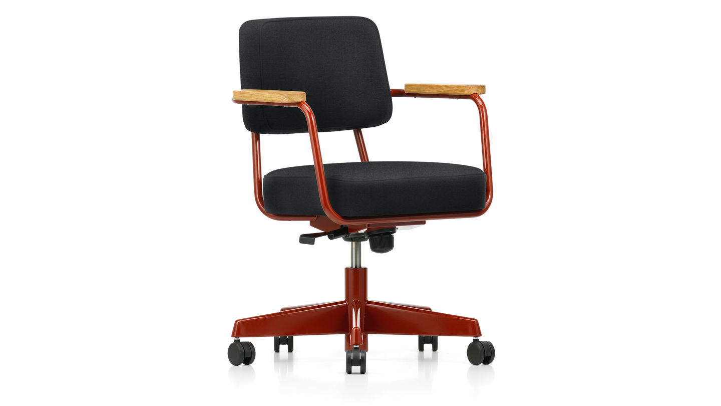 Fauteuil Cuir Vitra Vitra Fauteuil Direction Pivotant