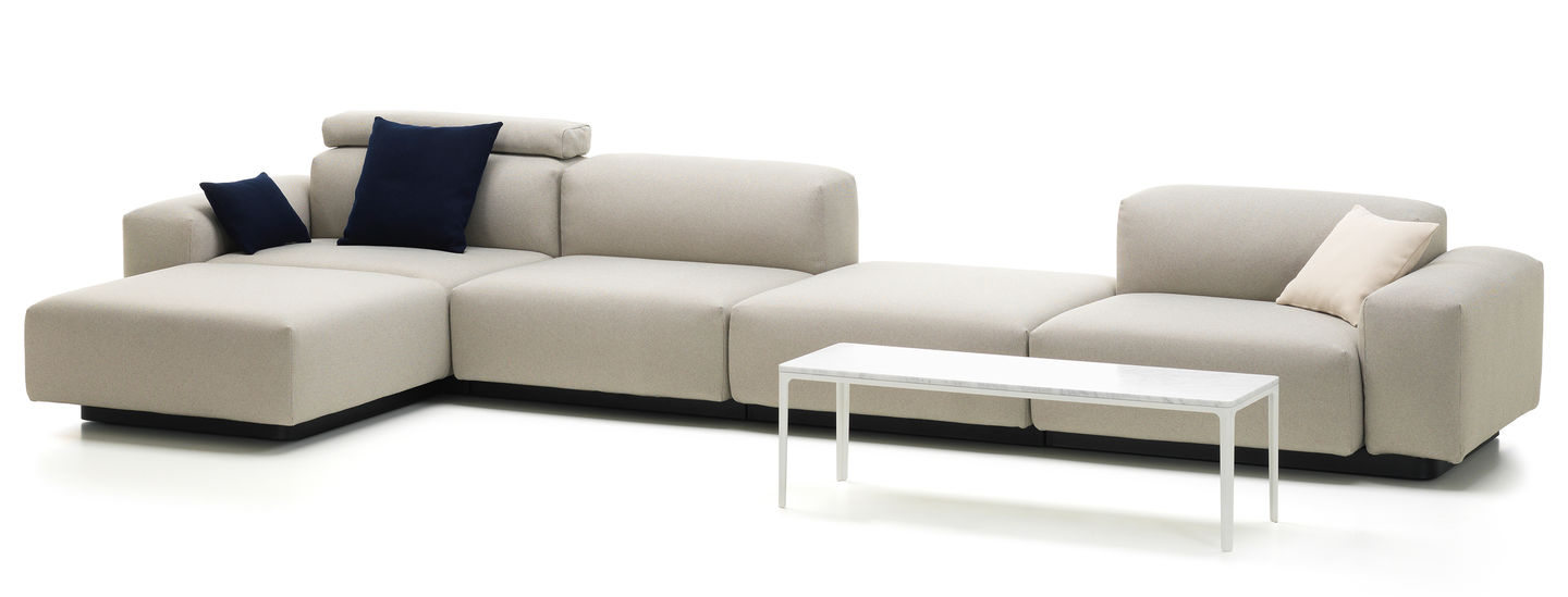 Cheap Modular Lounges Vitra Soft Modular Sofa Four Seater Platform Chaise Longue