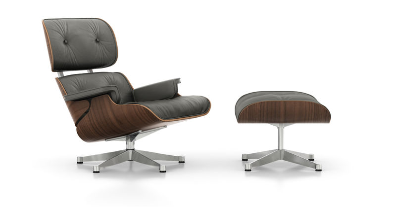 Sessel Stoff Braun Vitra | Eames Lounge Chair