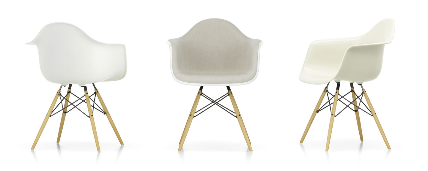 Chaise Dsw Rembourree Vitra Eames Plastic Armchair Daw