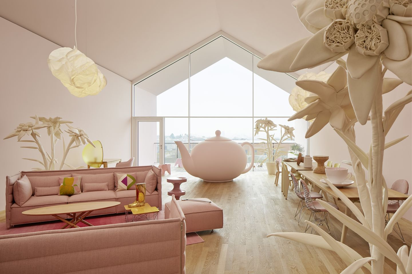 Eames Chair India Vitra India Mahdavi Transforms The Loft Into Alices