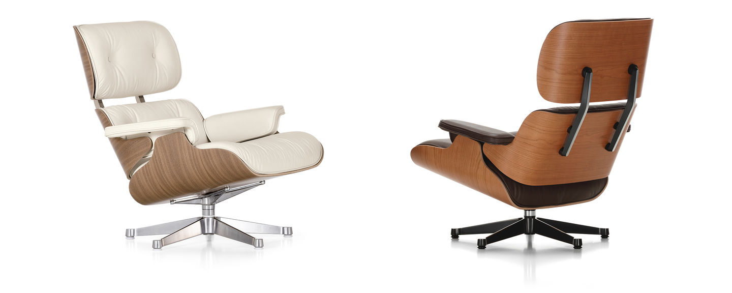 Fauteuil Cuir Vitra Vitra Lounge Chair