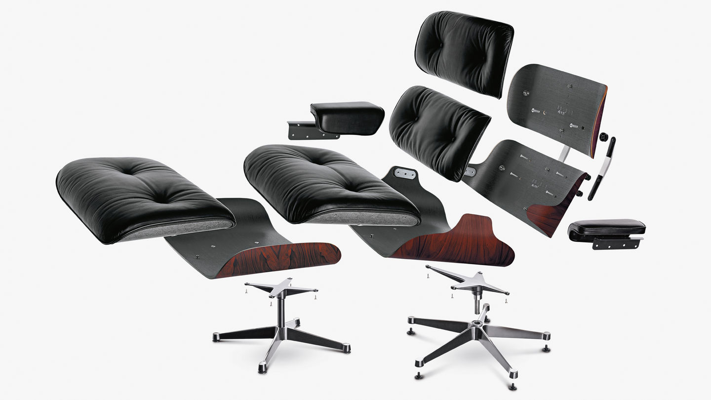 Vitra Lounge Chair Tweedehands Vitra Eames Lounge Chair