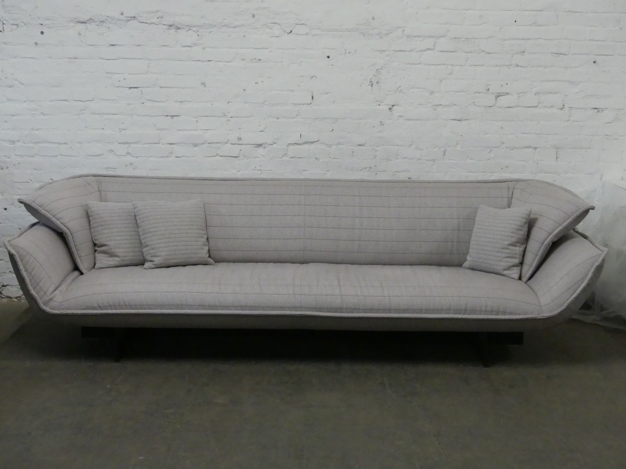 Sessel Outlet Outlet Cassina Sofa Beam Stoff Hellgrau