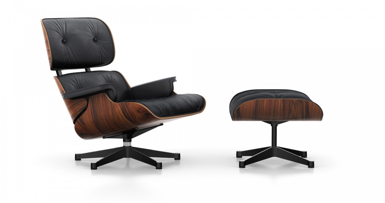 Eames Sessel Vitra Eames Lounge Chair Ottoman