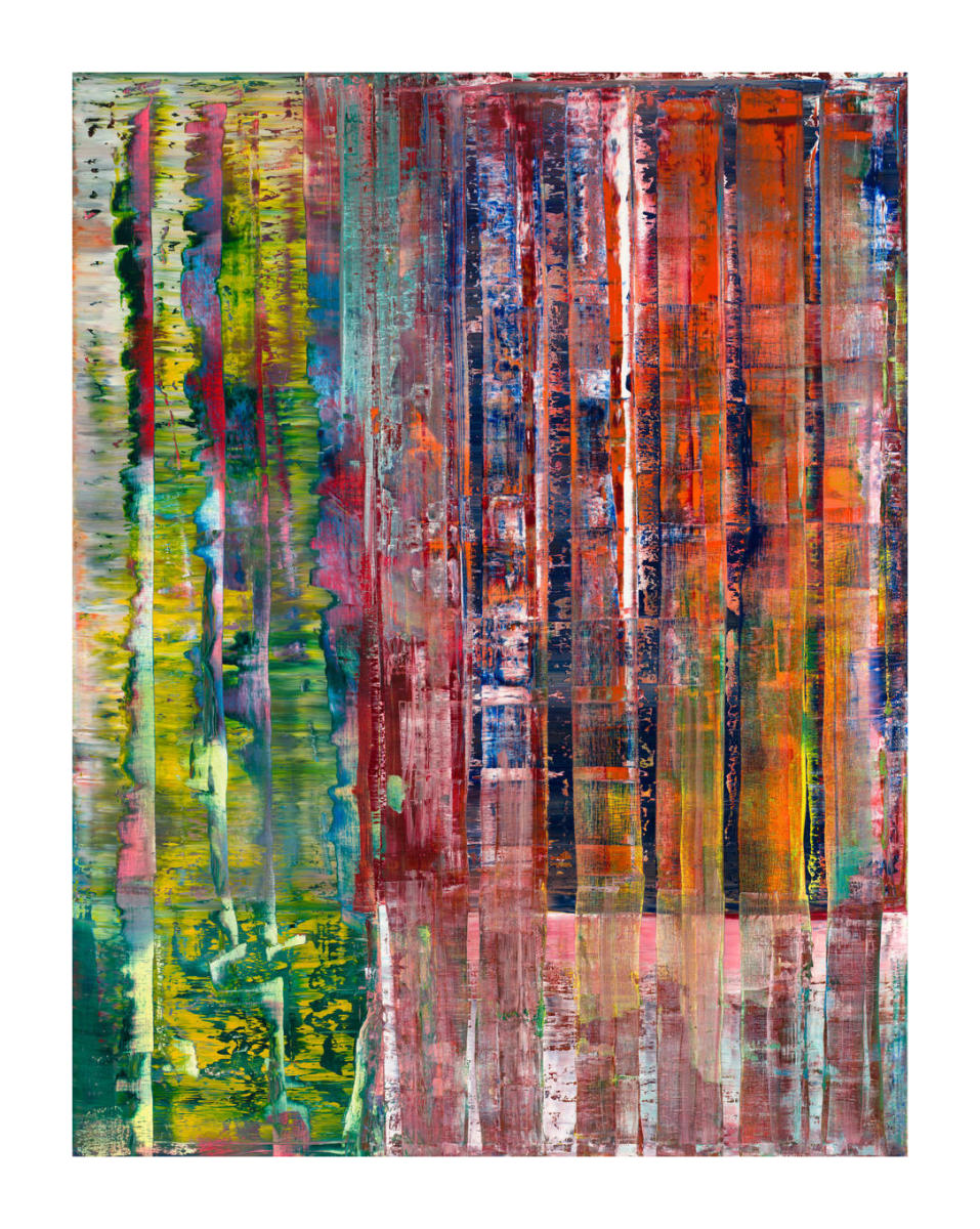 Abstrakte Bilder Gerhard Richter Abstraktes Bild Abstract Picture 1992 By Gerhard Richter