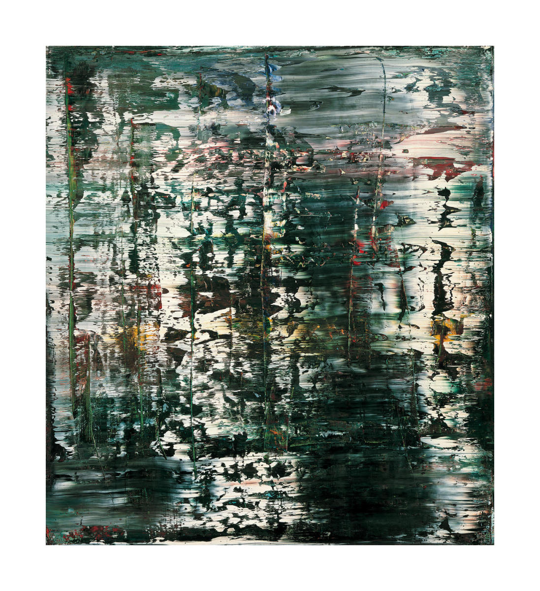 Abstraktes Bild Abstract Picture 1990 By Gerhard Richter Paper Print Sfmoma Custom Prints Store