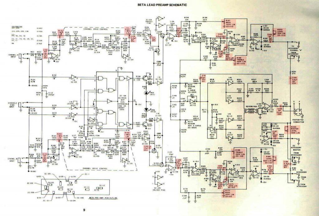 sunn amp schematic
