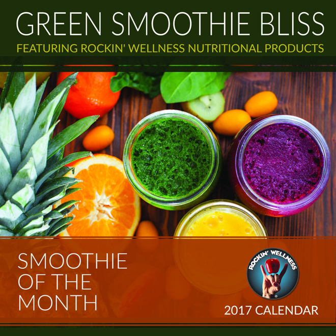 desk calendars 2017 green smoothie bliss