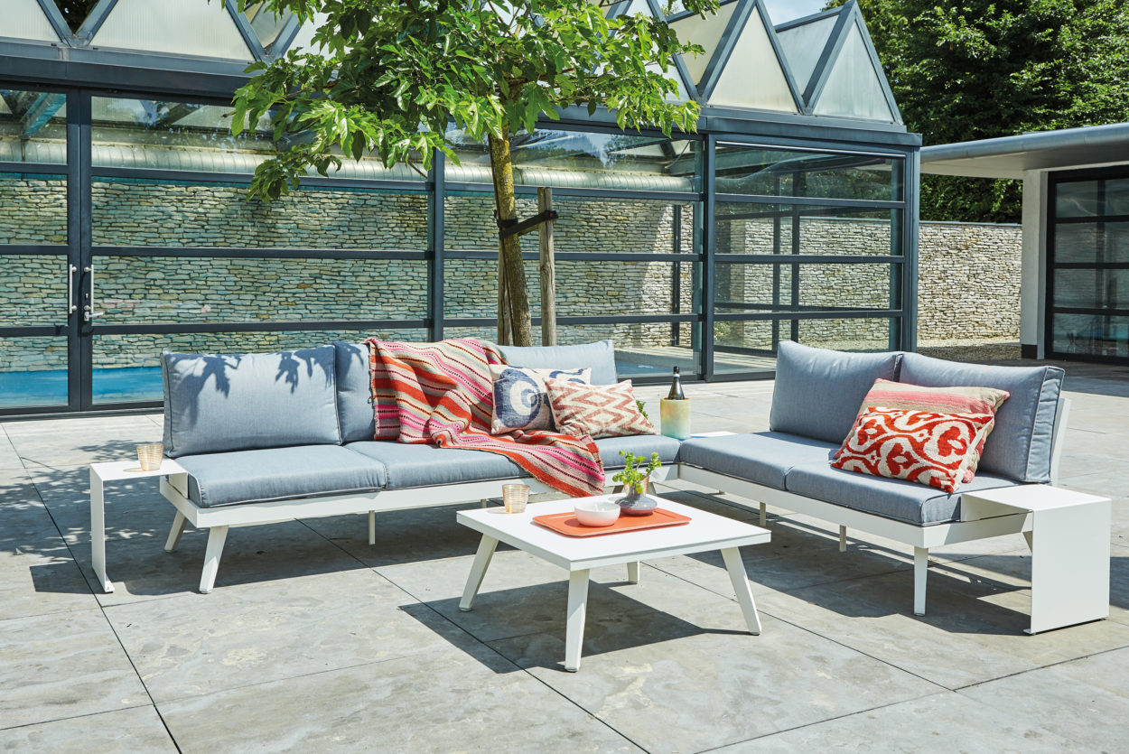 Tuinmeubelen xl royal patio hoekloungeset liverpool